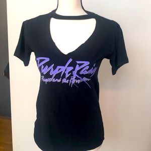 Official PRINCE ESTATE T-shirt -Altered cut front